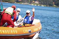 SAO PAULO, SP - 22.03.2017 - NOSSA GUARAPIRANGA - O Governador Geraldo Alckmin acompanhado do prefeito de S&atilde;o Paulo, Jo&atilde;o D&oacute;ria, participam da comemora&ccedil;&atilde;o do dia Mundial da &Aacute;gua na manha desta quarta-feira (22) na Represa do Guarapiranga, zona sul da Capital. O evento de preserva&ccedil;&atilde;o dos mananciais batizado de Nossa Guarapiranga teve a presen&ccedil;a de outras autoridades municipais e estaduais. <br /> <br /> (Foto: Fabricio Bomjardim / Brazil Photo Press)