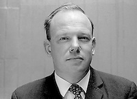 Ken Young, NILP, candidate, North Down, N Ireland, in June 1970 UK General Election. 197005200211<br />