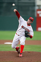 August 22nd, 2007:  Blake King of the Batavia Muckdogs, Short-Season Class-A affiliate of the St. Louis Cardinals at Dwyer Stadium in Batavia, NY.  Photo by:  Mike Janes/Four Seam Images