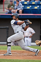 Deibinson Romero (24) of the Ft. Myers Miracle during a game vs. the Brevard County Manatees May 29 2010 at Space Coast Stadium in Viera, Florida. Ft. Myers won the game against Jupiter by the score of 3-2. Photo By Scott Jontes/Four Seam Images