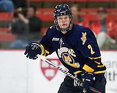 Mike Dalhuisen (Quinnipiac - 2) - The Harvard University Crimson and Quinnipiac University Bobcats played to a 2-2 tie on Saturday, November 5, 2011, at Bright Hockey Center in Cambridge, Massachusetts.