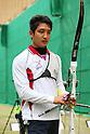 Yu Ishizu (JPN), .April 22, 2012 - Archery : .Archery Japan National Team Selection match for The World Cup Ogden 2012 .at JISS Archery Field, Tokyo, Japan. .(Photo by Daiju Kitamura/AFLO SPORT) [1045]
