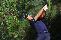 Ricardo Santos (POR) on the 7th tee during Round 1 of the Challenge Tour Grand Final 2019 at Club de Golf Alcanada, Port d'Alcúdia, Mallorca, Spain on Thursday 7th November 2019.<br /> Picture:  Thos Caffrey / Golffile<br /> <br /> All photo usage must carry mandatory copyright credit (© Golffile | Thos Caffrey)