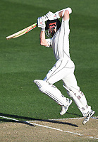 Kane Williamson batting.<br /> New Zealand Blackcaps v England. 1st day/night test match. Eden Park, Auckland, New Zealand. Day 1, Thursday 22 March 2018. &copy; Copyright Photo: Andrew Cornaga / www.Photosport.nz