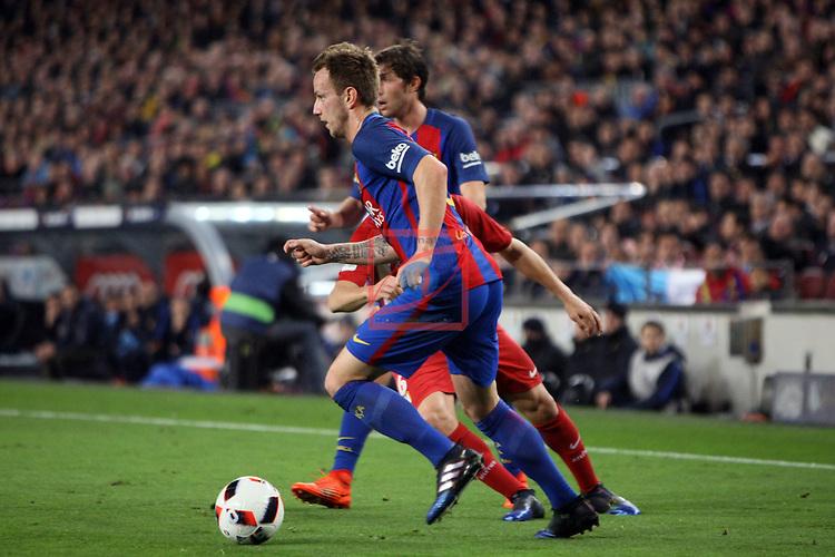 Copa del Rey 2016/2017 - Semifinal vuelta.<br /> FC Barcelona vs Atletico Madrid: 1-1.<br /> Rakitic.