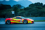Team BBT, #37 Ferrari 488 GT3, driven by Anthony Liu, Davide Rizzo and Alessandro Pier Guidi in action during Asian LMS Qualifying (GT, GT Cup) of the 2016-2017 Asian Le Mans Series Round 1 at Zhuhai Circuit on 29 October 2016, Zhuhai, China.  Photo by Marcio Machado / Power Sport Images