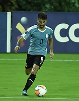 ARMENIA – COLOMBIA, 19-01-2020: Diego Rossi de Uruguay en acción durante partido entre Uruguay y Paraguay por la fecha 1, grupo B, del CONMEBOL Preolímpico Colombia 2020 jugado en el estadio Centenario de Armenia, Colombia. / Diego Rossi of Uruguay in action during the match between Colombia and Paraguay for the date 1, group B, for the CONMEBOL Pre-Olympic Tournament Colombia 2020 played at Centenario stadium in Armenia, Colombia Photos: VizzorImage / Gabriel Aponte / Staff