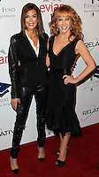 BEVERLY HILLS, CA, USA - OCTOBER 14: Teri Hatcher, Kathy Griffin arrive at the 20th Annual Fulfillment Fund Stars Benefit Gala held at The Beverly Hilton Hotel on October 14, 2014 in Beverly Hills, California, United States. (Photo by Celebrity Monitor)
