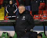 Chris Wilder manager of Sheffield Utd during the Championship match at Bramall Lane Stadium, Sheffield. Picture date 02nd April, 2018. Picture credit should read: Simon Bellis/Sportimage
