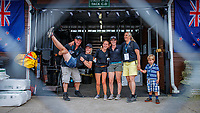Team NZ Eventing Stable: Andrew Nickalls (Farrier); Holly Fitzgerald; Lucy Miles; Tess Anderson; Christiana Ober (Vet). 2018 FEI World Equestrian Games Tryon. Monday 10 September. Copyright Photo: Libby Law Photography