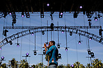 Lil B performs on stage at Weekend 1 of the Coachella Valley Music and Arts Festival in Indio, California April 10, 2015. (Photo by Kendrick Brinson)