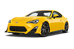 Stock pictures of low aggressive front three quarter view of a 2015 Scion FR-S Release 2 Door Coupe Low Aggressive