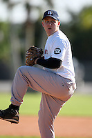 December 28, 2009:  Cody Norris (14) of the Baseball Factory Cavaliers team during the Pirate City Baseball Camp & Tournament at Pirate City in Bradenton, FL.  Photo By Mike Janes/Four Seam Images