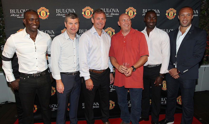 Images from the Bulova watches and Manchester United Men's Health event at the Sky Bar pool at the Mondrian Hotel on Monday, July 21, 2014 in Hollywood, Ca. (photo by Soul Brother for Men's Health)