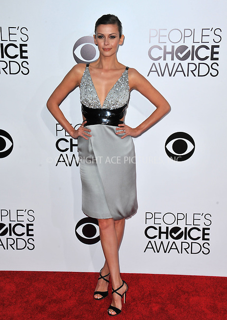 WWW.ACEPIXS.COM<br /> <br /> <br /> January 8, 2014, Los Angeles, CA.<br /> <br /> Olga Fonda arriving atThe 40th Annual People's Choice Awards held at Nokia Theatre L.A. Live on January 8, 2014 in Los Angeles, California. <br /> <br /> <br /> <br /> <br /> <br /> <br /> By Line: Peter West/ACE Pictures<br /> <br /> ACE Pictures, Inc<br /> Tel: 646 769 0430<br /> Email: info@acepixs.com