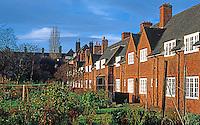 London: Hampstead Garden Suburb--Allotment Gardens.Photo '90.