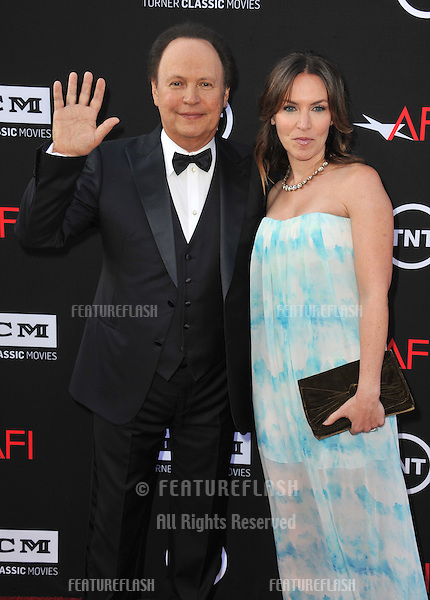 Billy Crystal &amp; daughter Jennifer at the 41st AFI Life Achievement Award honoring Mel Brooks at the Dolby Theatre, Hollywood.<br /> June 6, 2013  Los Angeles, CA<br /> Picture: Paul Smith / Featureflash