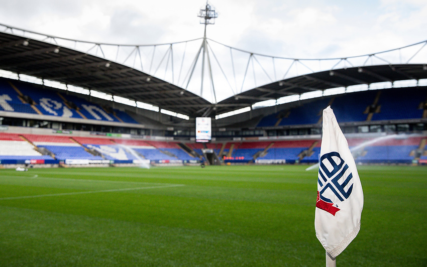 A general view of the University of Bolton stadium <br /> <br /> Photographer Andrew Kearns/CameraSport<br /> <br /> EFL Leasing.com Trophy - Northern Section - Group F - Bolton Wanderers v Bradford City -  Tuesday 3rd September 2019 - University of Bolton Stadium - Bolton<br />  <br /> World Copyright © 2018 CameraSport. All rights reserved. 43 Linden Ave. Countesthorpe. Leicester. England. LE8 5PG - Tel: +44 (0) 116 277 4147 - admin@camerasport.com - www.camerasport.com