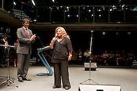 SAO PAULO, SP, 17.12.2014 -   A cantora Angela Maria se apresenta na cerimônia de encerramento do Circuito São Paulo de Cultura, no Centro Cultural São Paulo, na avenida Vergueiro nessa quarta 17. ( Gabriel Soares/ Brazil Photo Press)