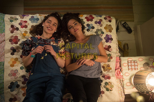 Me Before You (2016)<br /> Emilia Clarke &amp; Jenna Coleman<br /> *Filmstill - Editorial Use Only*<br /> CAP/KFS<br /> Image supplied by Capital Pictures