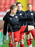 Sheffield United Ladies' Ruby Hall warms up prior to kick off during the FA Women's Cup First Round match at Bramall Lane Stadium, Sheffield. Picture date: December 4th, 2016. Pic Clint Hughes/Sportimage