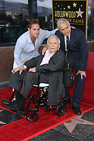 Hollywood, CA - November 06 Cameron Douglas, Michael Douglas, Kirk Douglas, Attends Michael Douglas Honored With Star On The Hollywood Walk Of Fame on November 06, 2018. <br /> CAP/MPI/FS<br /> &copy;FS/MPI/Capital Pictures