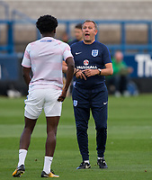 England U20 Specialist Coach Mark Robson during the International friendly match between England U20 and Netherlands U20 at New Bucks Head, Telford, England on 31 August 2017. Photo by Andy Rowland.