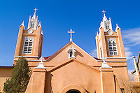 Famous Landmark of Old Town the San Felipe De Neri old Church in Albuquerque New Mexico US