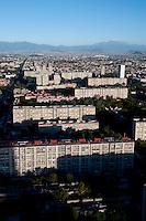 Tlatelolco, Mario Pani. Aerial photos of Mexico City, Mexico