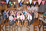 Bertie O'Connor, retiring principal, Cullina National School pictured his family, friends and former colleagues as he celebrated his retirement from the school in Kate Kearneys Cottage, Beaufort on Friday night.
