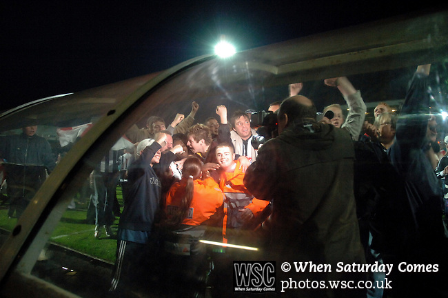 Grimsby Town 1 Tottenham Hotspur 0, 20/10/2005. Blundell Park, Carling Cup. Photo by Simon Gill.