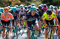 Picture by Alex Whitehead/SWpix.com - 03/05/2018 - Cycling - 2018 Asda Women's Tour de Yorkshire - Stage 1: Beverley to Doncaster - Abby-Mae Parkinson of Trek Drops.