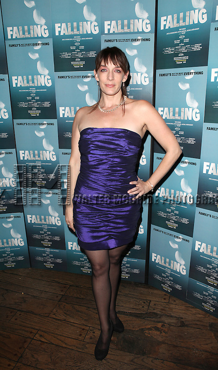 Julia Murney attending the Off-Broadway Opening Night Performance After Party for 'Falling' at Knickerbocker Bar & Grill on October 15, 2012 in New York City.