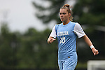 07 September 2014: North Carolina's Joanna Boyles. The University of North Carolina Tar Heels played the University of Arkansas Razorbacks at Koskinen Stadium in Durham, North Carolina in a 2014 NCAA Division I Women's Soccer match. UNC won the game 2-1.