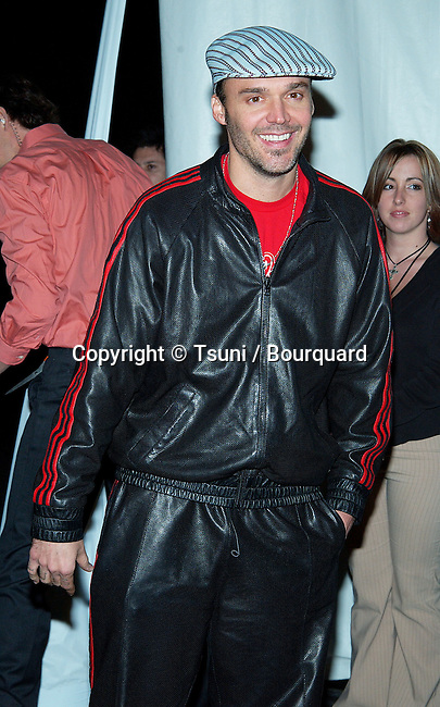 "David Lachapelle arriving at the Rolling Stones "" Fashion and Licks 2002 "" at the Beverly Hilton in Los Angeles. November 3, 2002.           -            LachapelleDavid16.jpg"