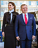 05.04.2017; Washington DC, USA: QUEEN RANIA AND KING ABDULLAH II OF JORDAN<br /> during their official visit to Washington DC.<br /> Mandatory Photo Credit: &copy;Royal Hashemite Court/NEWSPIX INTERNATIONAL<br /> <br /> PHOTO CREDIT MANDATORY!!: NEWSPIX INTERNATIONAL(Failure to credit will incur a surcharge of 100% of reproduction fees)<br /> <br /> IMMEDIATE CONFIRMATION OF USAGE REQUIRED:<br /> Newspix International, 31 Chinnery Hill, Bishop's Stortford, ENGLAND CM23 3PS<br /> Tel:+441279 324672  ; Fax: +441279656877<br /> Mobile:  0777568 1153<br /> e-mail: info@newspixinternational.co.uk<br /> &ldquo;All Fees Payable To Newspix International&rdquo;