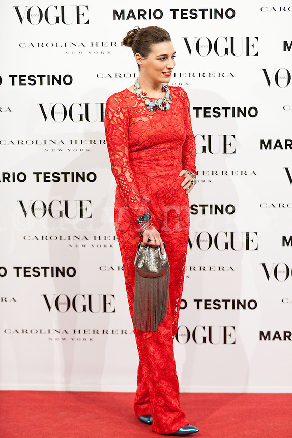 Eugenia Osborne at Vogue December Issue Mario Testino Party