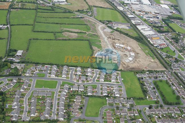 Aerial images of Drogheda Duleek Road..Photo: Newsfile / Fran Caffrey.