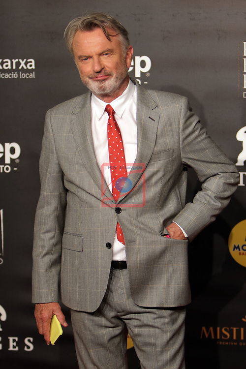 52 FESTIVAL INTERNACIONAL DE CINEMA FANTASTIC DE CATALUNYA. SITGES 2019.<br /> Red Carpet Awards Ceremony.<br /> Sam Neill.