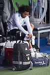 Real Madrid Marcelo during La Liga match between Real Madrid and Eibar at Santiago Bernabeu Stadium in Madrid, Spain. October 22, 2017. (ALTERPHOTOS/Borja B.Hojas)