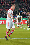 08.02.2019, RheinEnergieStadion, Koeln, GER, 2. FBL, 1.FC Koeln vs. FC St. Pauli,<br />  <br /> DFL regulations prohibit any use of photographs as image sequences and/or quasi-video<br /> <br /> im Bild / picture shows: <br /> Christian Clemens (FC Koeln #17),     freut sich über das 2:1<br /> <br /> Foto © nordphoto / Meuter