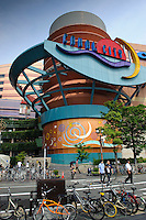 The futuristic Canal City shopping mall, Fukuoka city, Fukuoka prefecture, Japan, June 3, 2009.