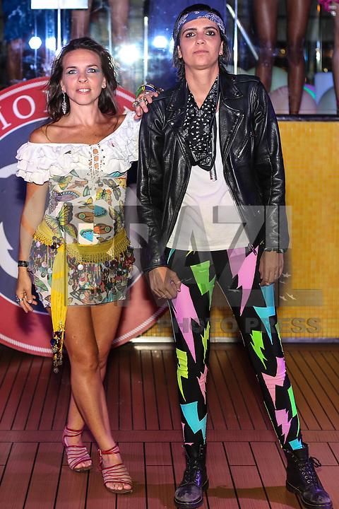 SANTOS, SP, 07.02.2018 - FASHION-CRUISE - Modelo durante desfile da grife Amapo do Fashion Cruise nesta terça-feira, 07.(Foto: Vanessa Carvalho/Brazil Photo Press)