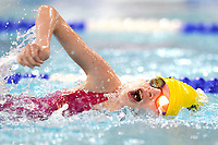Picture by Richard Blaxall/SWpix.com - 14/04/2018 - Swimming - EFDS National Junior Para Swimming Champs - The Quays, Southampton, England - Emily Holder of Harrogate during the Women's Open 100m Freestyle