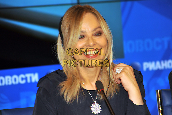 MOSCOW, RUSSIA - DECEMBER 05: Ornella Muti at the press conference of the festival &quot;In the family&quot;. RIA &quot;Novosti&quot;, on December 5th, 2013 in Moscow, Russia. <br /> CAP/PER/BK<br /> &copy;BK/PersonaStars/CapitalPictures