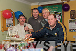 Bingo: Calling the numbers at the charity bingo held at the Saddle Bar in Listowel on Saturday night were Sean Costello and his assiatants Johnny Buckley, Christy Kileen & Pat O'Brien.