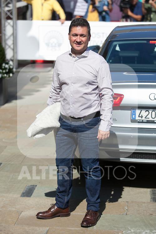 Actor Secun de la Rosa arrives at 63rd Donostia Zinemaldia (San Sebastian International Film Festival) in San Sebastian, Spain. September 18, 2015. (ALTERPHOTOS/Victor Blanco)