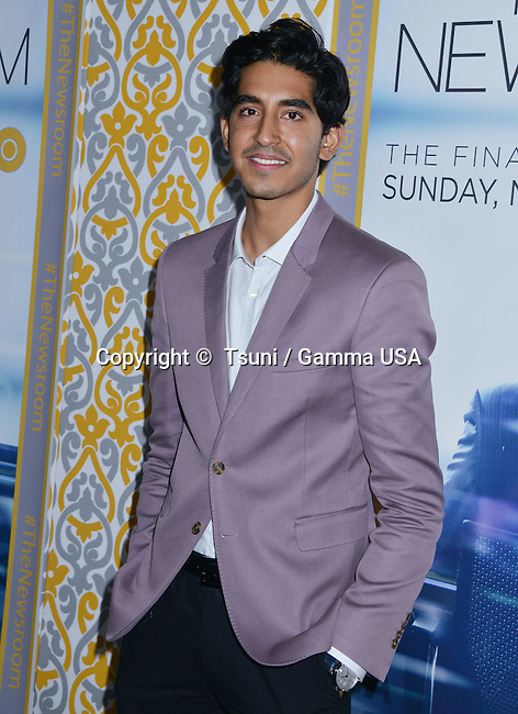 Dev Patel 035 at the Newsroom Premiere at the DGA of America in Los Angeles.