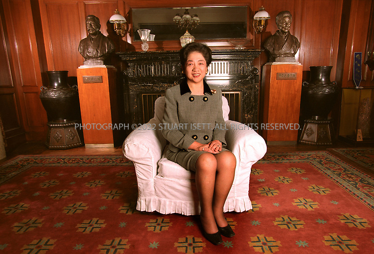 11/10/1999--Tokyo, Japan..Sawako Noma, president of Kodansha publishers, which has set itself new goals in the ever changing media industry and continues to play a dominant role as a leader of Japanese book and magazine publishing..All photographs ©2003 Stuart Isett.All rights reserved.This image may not be reproduced without expressed written permission from Stuart Isett.