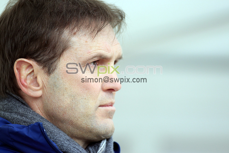 Pix: Chris Mangnall /Swpix.com, Rugby League, Super League. 14/02/10 Bradford Bulls v St Helens Saints....picture copyright>>Simon Wilkinson>>07811267 706>>....St Helens's Head Coach Mick Potter